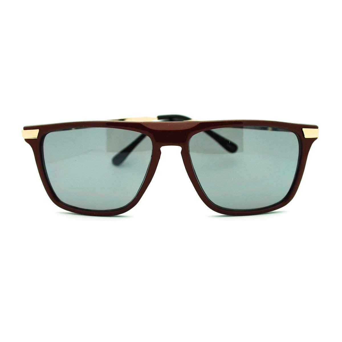 09299ec1aa9b7b Buy Todays Offers Vogue Square Flat Top Browne Sunglasses Men ...