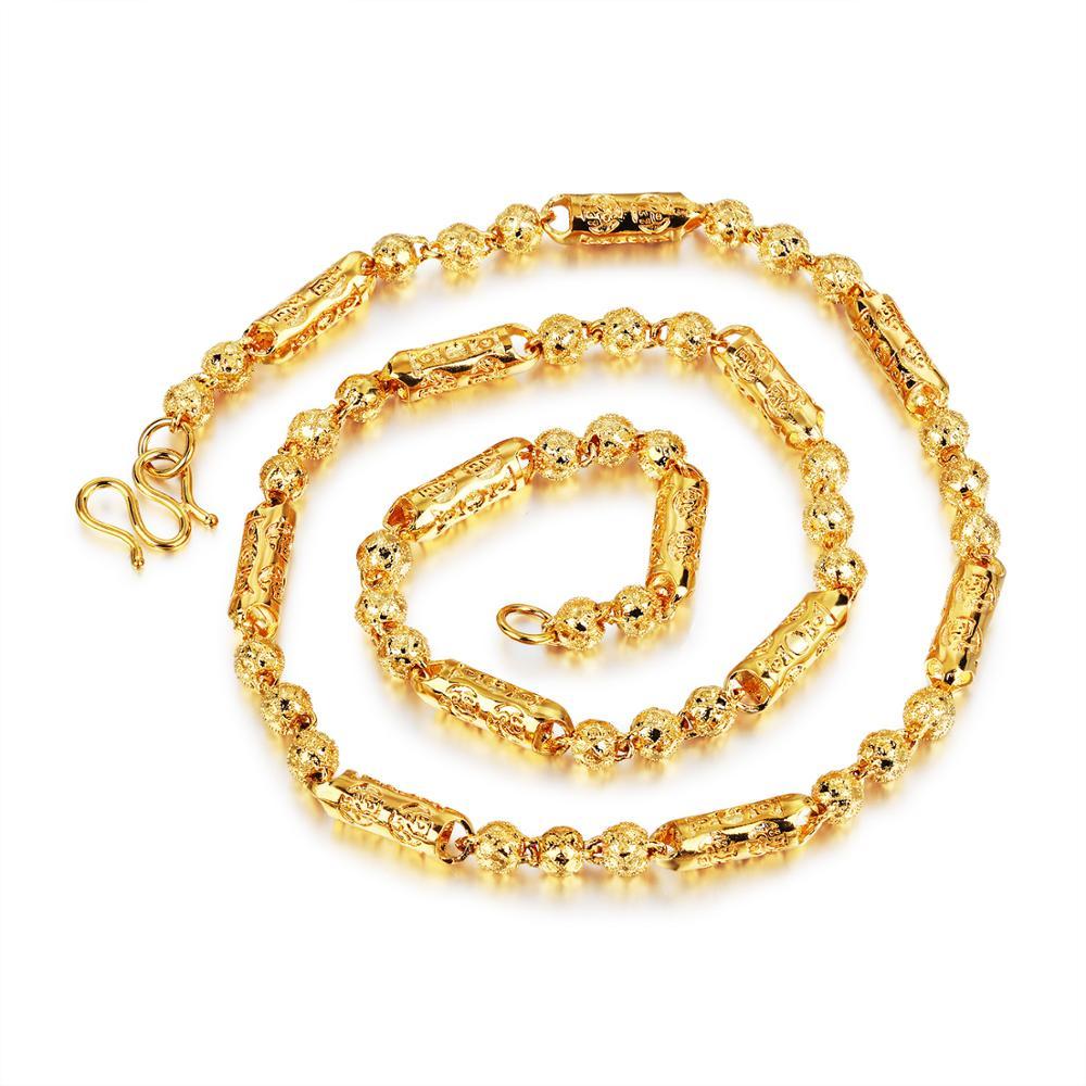 Kette mit Herz Zirkonia Anhänger 18 Karat vergoldet Modeschmuck Geschenk Xuping