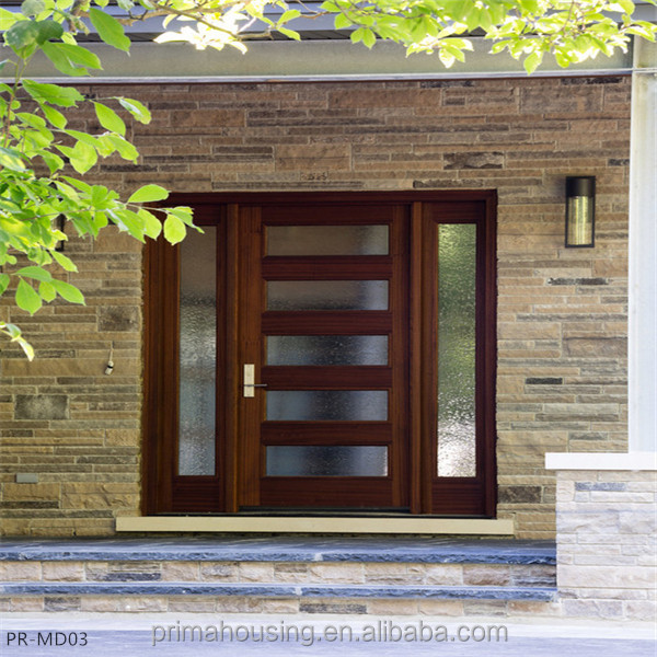 Modern Design Solid Wood Exterior Main Door Buy Solid Wood