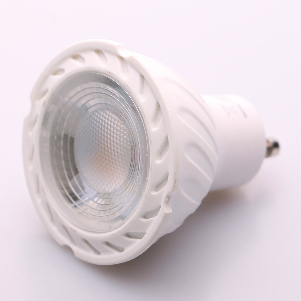 50W Halogen Replacement White Dimmable Best Price GU10 6W COB Led Spotlight