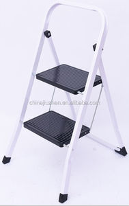 hanging ladders, steps ladders steel material, folding steel ladder two steps