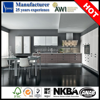 Antique Design Laminate Commercial Plywood Kitchen Cabinets ...
