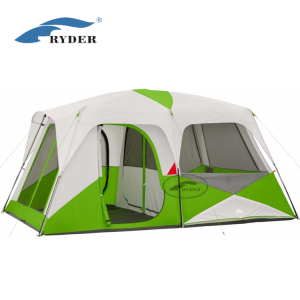 China Suppliers Custom Outdoor Camping Equipment 4 Person Family Cabin House Tents