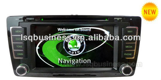 smart TV/dual zone/IPOD/bluetooth drive/car multimedia player for Skoda Octavia 2013,ST-ANS620
