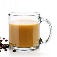Factory price Hot Selling 350Ml Double Wall Glass Coffee Cups/Mugs