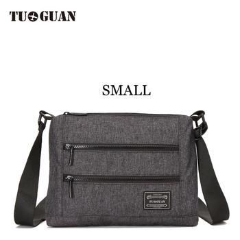 89da1227e31a Tuguan Messenger Bags Male Men Business School Students Satchel Casual Crossbody  Shoulder Teenager Wholesale Bag Small