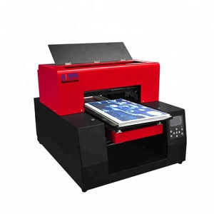 Automatic UV Flatbed Printer Direct To Garment Digital T Shirt Printing Machine