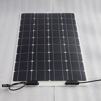 Patente única 100W flexible casa uso panel solar de 1000 vatios