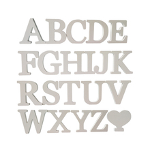2016 new diy wall stickers 3d sticker creative decoration wedding gift love letters decorative Alphabet wall decor free shipping