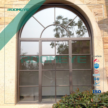 Roomeye Pvcaluminium Arched Double Glass Entry Door Buy
