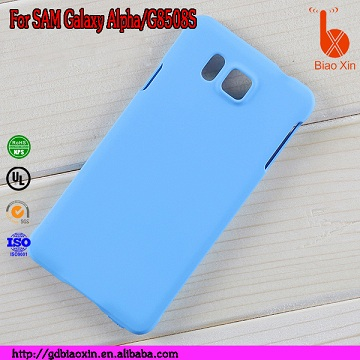 Hard Plastic Brushed Phone for SAM Galaxy Alpha/G8508S