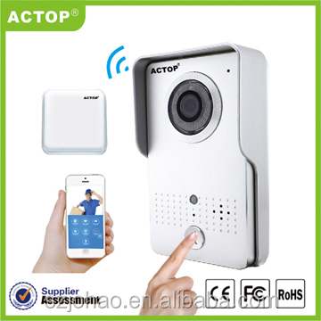 Intelligent Wifi Video DoorBell for House Easy Use Home wifi video Doorbell for Child and Old People