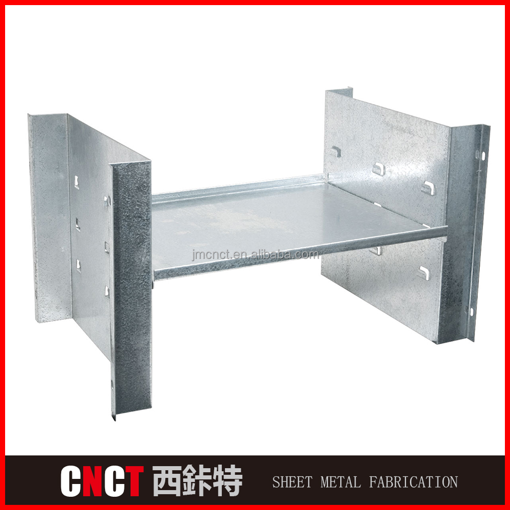 CNCT Custom welding steel tube structure sheet metal tube fabrication price
