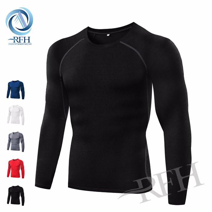 OEM Service Sports Apparel Compression Men's Clothes Running T Shirt Gym wear