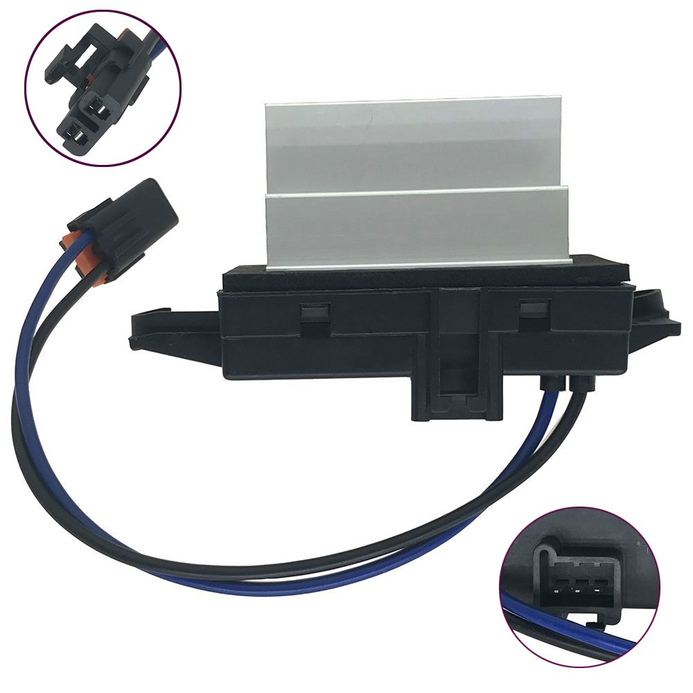 4P1516 Improved Design HVAC Heating Ventilation Air Conditioning Blower Motor Resistor Module for Buick Cadillac Chevrolet GMC Isuzu Oldsmobile Saab Replaces OE#MT1805 RU-631 JA1639 BMR34