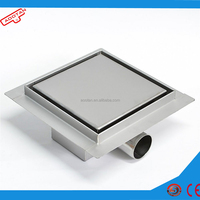 floor drain stainless steel cover/floor drain/water drainage channel for bathroom shower