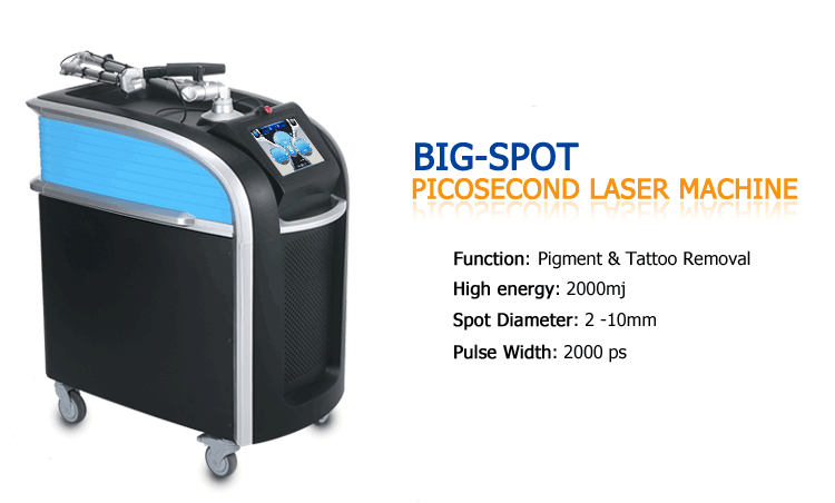Fast painless picosecond laser tattoo removal machine and pigmentation removal machine