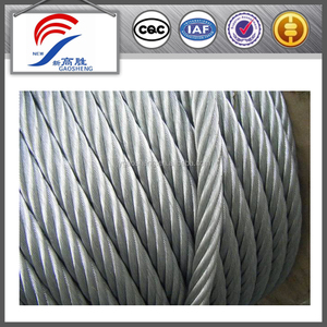 Capacity of steel wire rope 16mm steel wire rope used steel wire rope