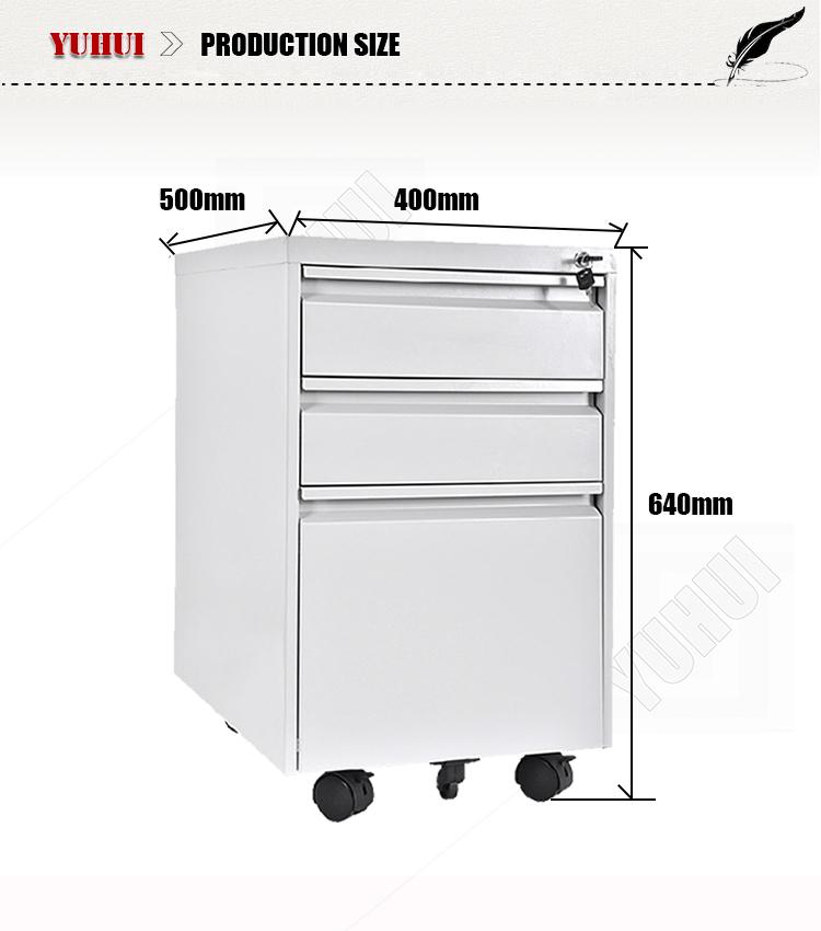 Makro Office Furniture 3 Drawer Mobile Filing Cabinet