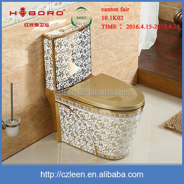 neue elegante chinesische k nigshof badezimmer keramik goldfarbe wc toilette produkt id. Black Bedroom Furniture Sets. Home Design Ideas