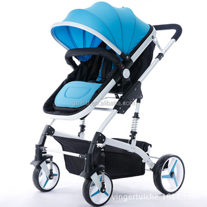 carriage Kid stroller, Super Baby Sitter, home baby keeper! Foldable Lightweight Aluminum Alloy Made Infant Stroller