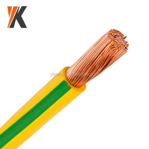 Earthing cable specification size green yellow ground 4mm 6mm 25mm2 earth cable