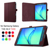 Custom Design 2-Folding 8inch Tablet Cover 360 Degree Rotary Leather Cases For Samsung Tab A8.0 T350 T355 Grey Color