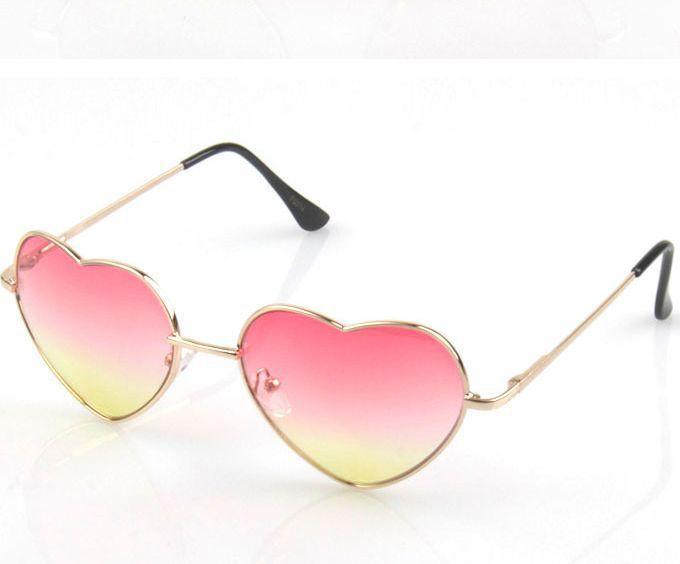 f5814e8427 Get Quotations · New Women Heartbreaker Sunglasses Metal Frame Mirror Lens Fashion  Sun Glasses Women Brand Designer Heart Shaped