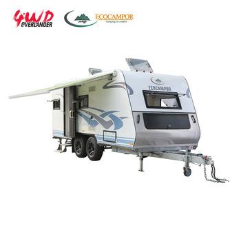 Fiberglass Reinforced Plastic RV Camper Trailer Van in Europe, View RV  Camper Trailer, Ecocampor & 4WDOVERLANDER Product Details from Foshan ELT  Camp