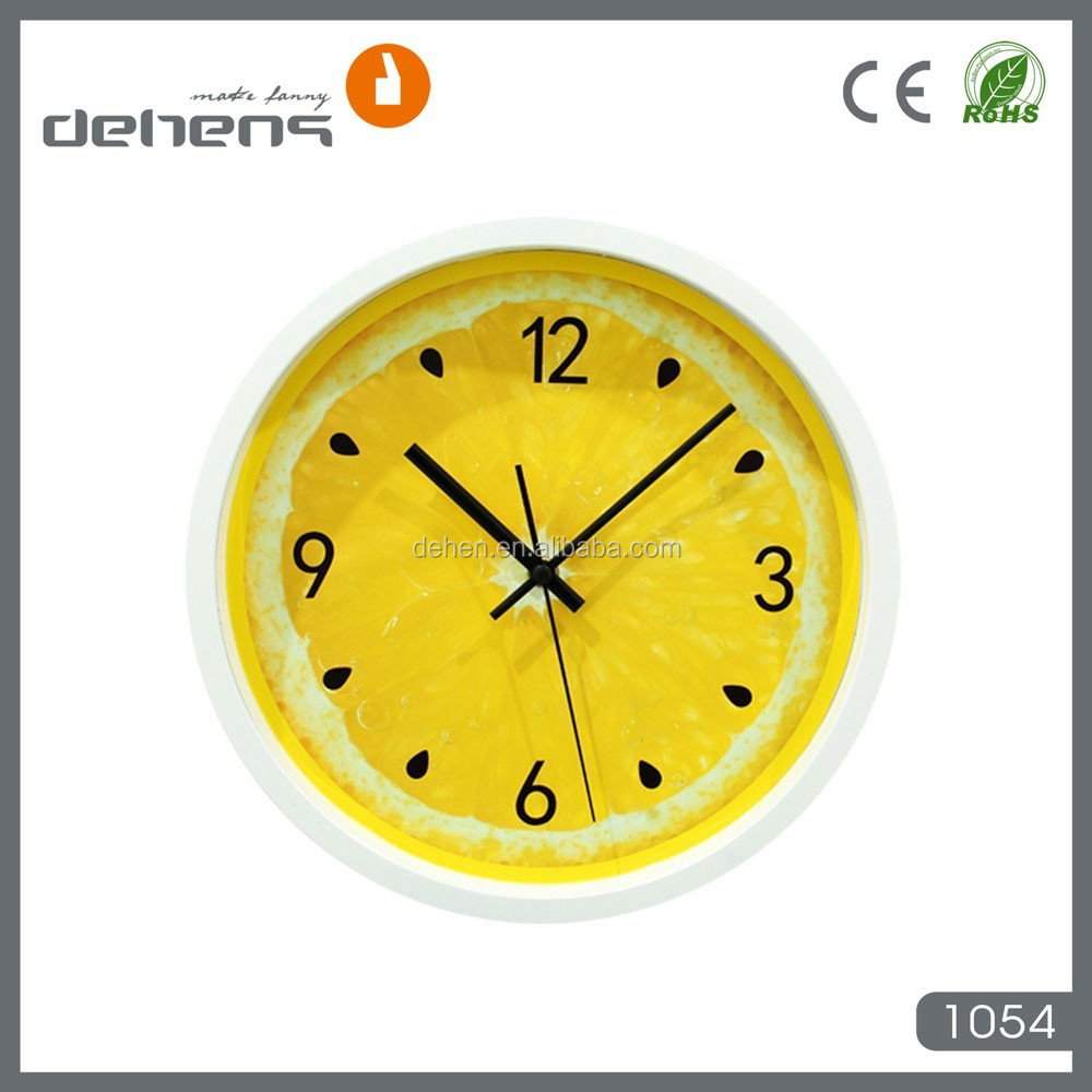 Kitchen Fruit Wall Clock, Kitchen Fruit Wall Clock Suppliers and ...
