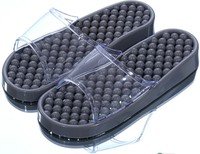 Bathroom flip flop Plastic Massage Slippers Couple Pierced Bathe Sandals and slippers