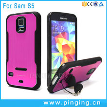 Manufacturers selling blade hardware 2 in 1 tpu is suitable for samsung S5