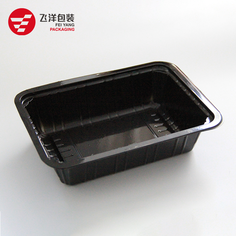Take away disposable plastic packing food vegetable meat fruit PP tray