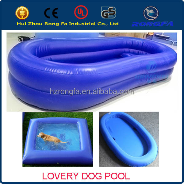 top quality inflatable dog pool, inflatable pet swimming pool