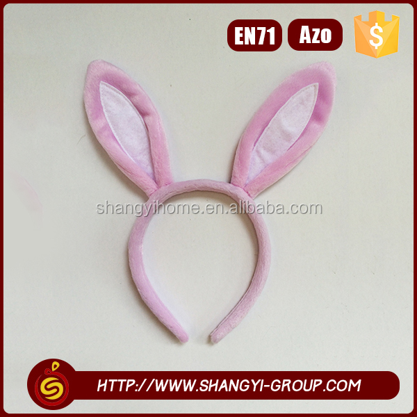 2016 Newest simple style children lovely makeup bunny ear headband