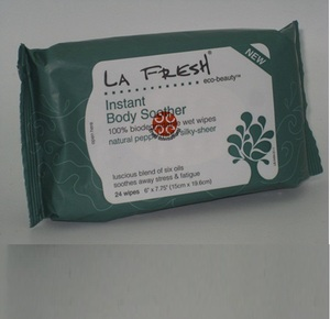 Eco Beauty Instant Body Soother Biodegradable Wet Wipes