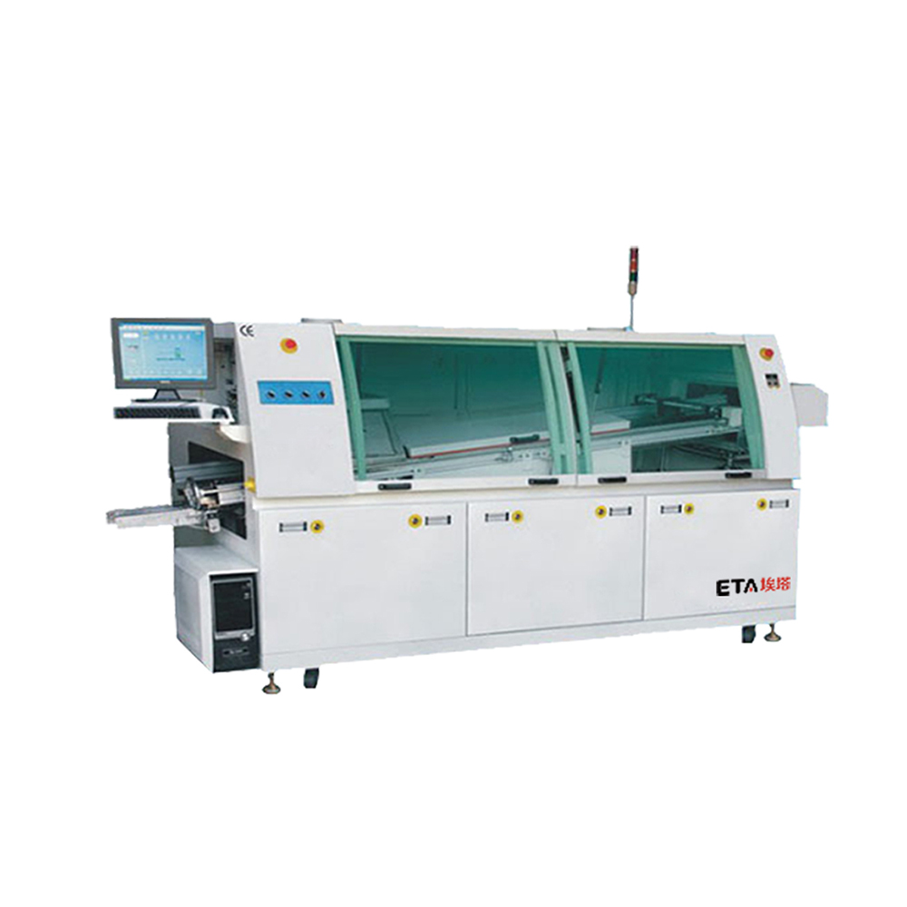 China factory DIP PCB small wave solder machine
