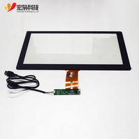 10.1,13.3,15,15.6,17.3,18.5,21.5 inch Lcd Customizable usb multi panel capacitive touch screen