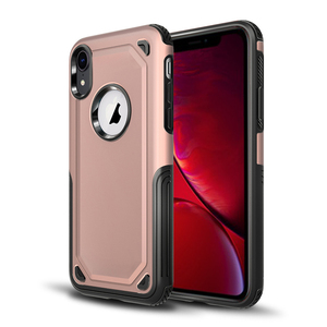 Rugged Shield Guard Hybrid PC TPU Shockproof Phone Cover For iPhone XR 6.1