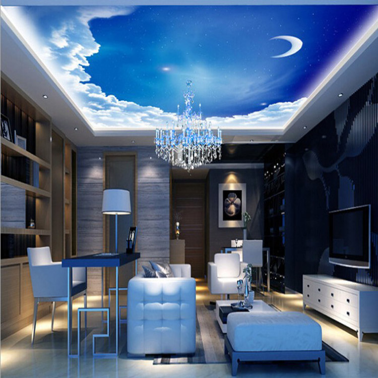 3d Wall Ceiling Kid Children\'s Bedroom Wallpaper Mural 3d Sky Modern  Wallpapers Customize - Buy Childrens Bedroom Wallpaper Mural 3d Sky,Modern  ...