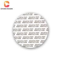 Self Adhesive Bottle Cap Foam Pressure Sensitive Seal Liner