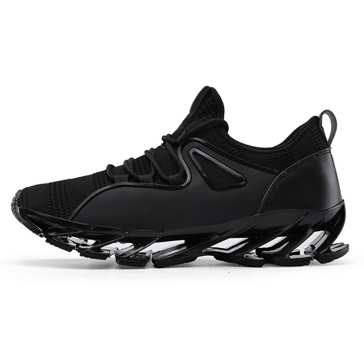 99434f31 Al por mayor negro suave ocio en línea de punto/textil deporte zapatilla de  deporte