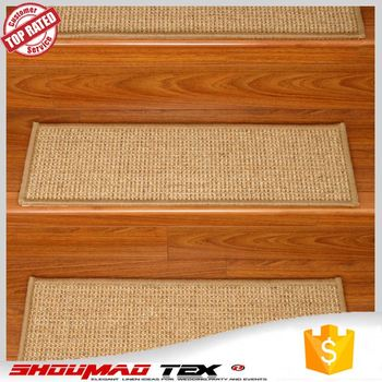 ECO Friendly Natural Color Individual Stair Carpet
