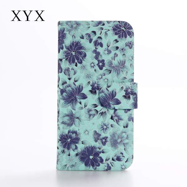 Typical Chinoiserie style for 2016 HK Fairs with flower pattern case for Samsung Galaxy C7 cover