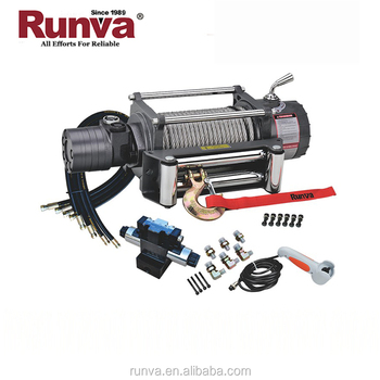 Runva Patent Two Stage Planetary Gear Reducer Winch 13000 Lbs