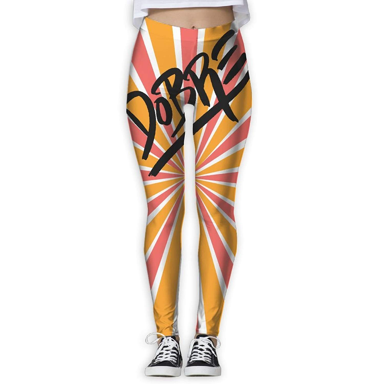Dobre Brothers Logo Womens Yoga Pants Workout Leggings Sports Pants