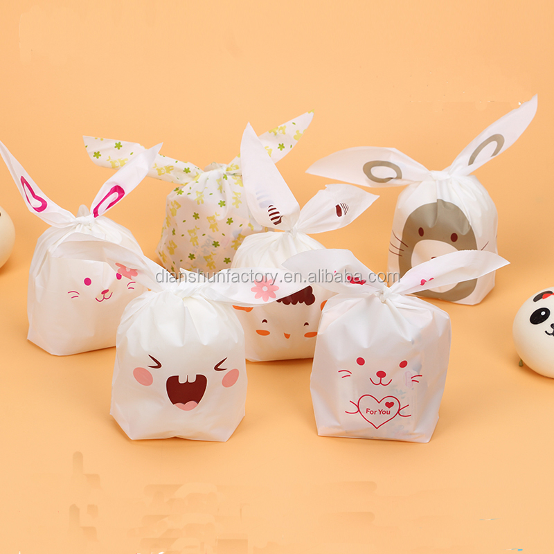 Rabbit Ears Dessert Bread Chieftain Packaging Bags Snacks Cake Candy and Cookie Packing bag