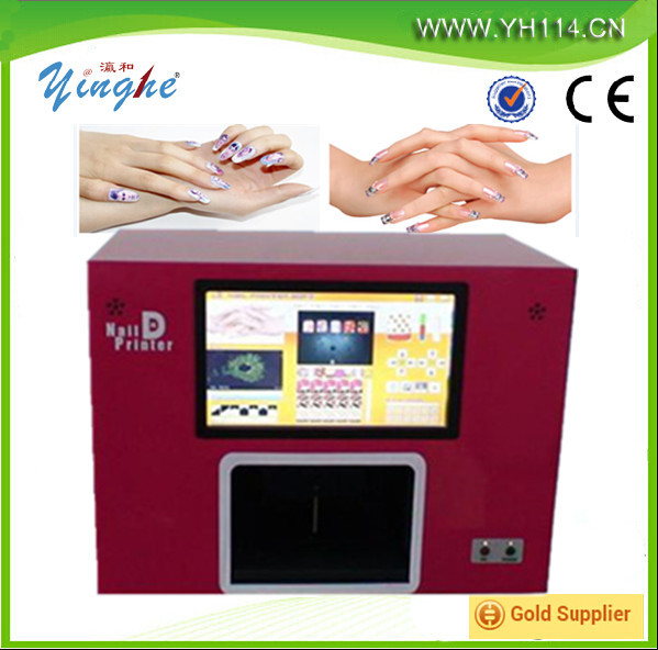 Digital Beautiful Nail Printer /flower Printing Machine - Buy Nail ...