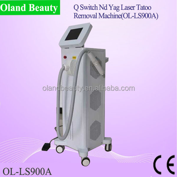 Professional new technology beauty machine laser handpiece for tattoo removal/Nd yag laser handpiece