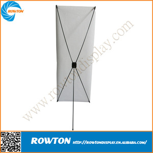 Advertising flex banner adjustable x stands display stand